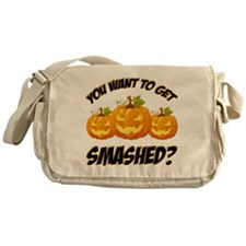 Smashed Happy Halloween Messenger Bag