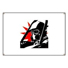 Drag Racer Banner