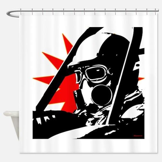 Drag Racer Shower Curtain