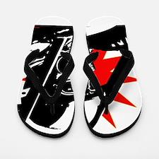 Drag Racer Flip Flops