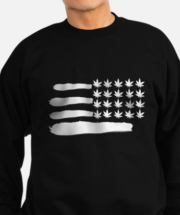 weed cannabis 420 t-shirt Sweatshirt