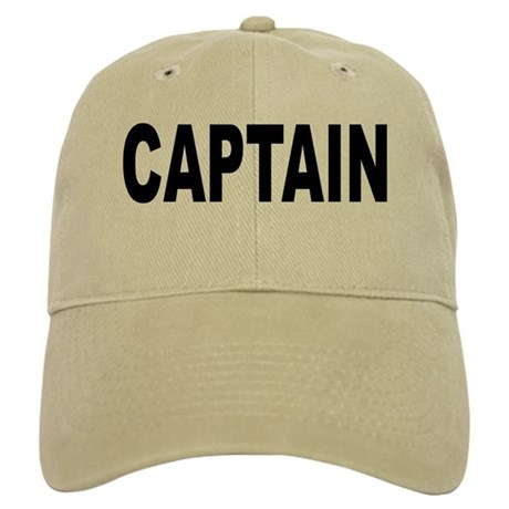 captain baseball cap by bobsgift