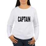 Captain Women's Long Sleeve T-Shirt