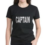 Captain (Front) Women's Dark T-Shirt