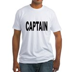 Captain (Front) Fitted T-Shirt