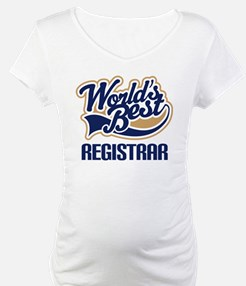 Registrar (Worlds Best) Shirt