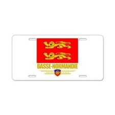 Basse-Normandie (Flag 10).png Aluminum License Pla