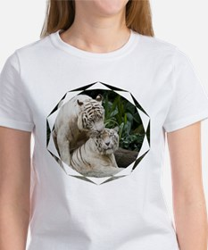 Kiss love peace and joy white tigers lovers 1 T-Sh