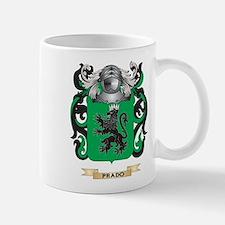 Prado Coat of Arms (Family Crest) Mugs