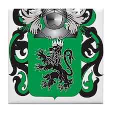 Prado Coat of Arms (Family Crest) Tile Coaster