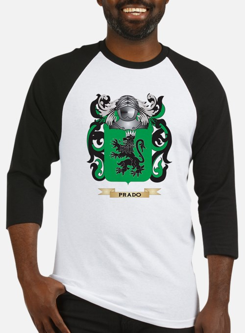 Prado Coat of Arms (Family Crest) Baseball Jersey