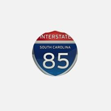 Interstate 85 Mini Button