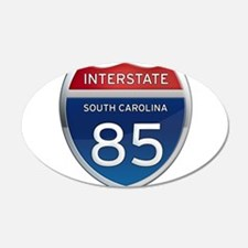 Interstate 85 Wall Decal