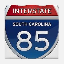 Interstate 85 Tile Coaster