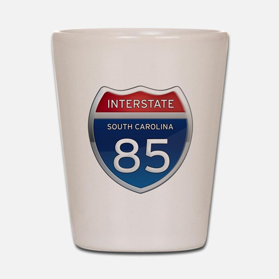 Interstate 85 Shot Glass