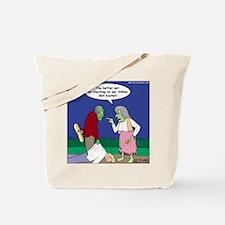 Zombie Atkins Diet Tote Bag