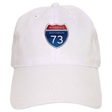 Interstate 73 Baseball Baseball Cap