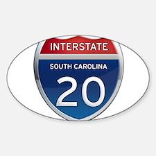 Interstate 20 Decal