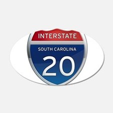 Interstate 20 Wall Decal