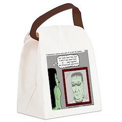 Frankenstein Zombie Canvas Lunch Bag