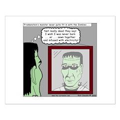 Frankenstein Zombie Posters