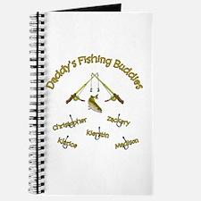 Daddy's Fishing Buddies Journal