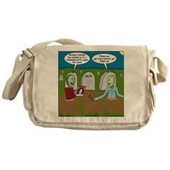 Zombie Halloween Party Messenger Bag