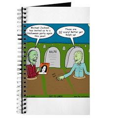 Zombie Halloween Party Journal