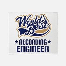 Recording Engineer (Worlds Best) Throw Blanket