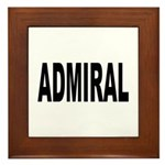 Admiral Framed Tile