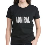 Admiral (Front) Women's Dark T-Shirt