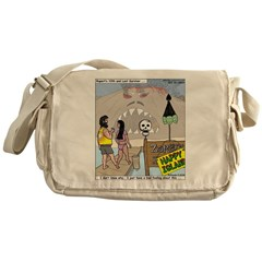 Zombie Island Messenger Bag