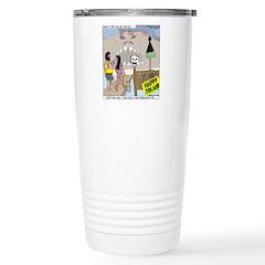 Zombie Island Travel Mug