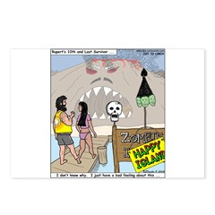 Zombie Island Postcards (Package of 8)