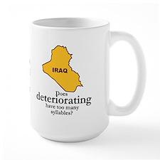 deteriorating Mug