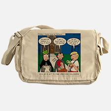 Zombie Trick-or-Treat Messenger Bag