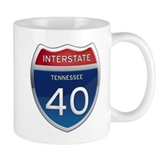 Interstate 40 Mugs