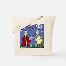 Zombie Vegan Tote Bag