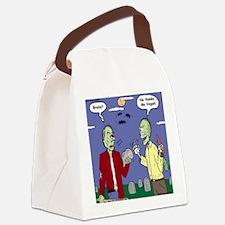 Zombie Vegan Canvas Lunch Bag