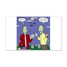 Zombie Vegan Wall Sticker