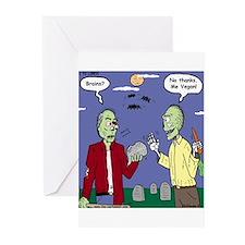 Zombie Vegan Greeting Cards (Pk of 10)