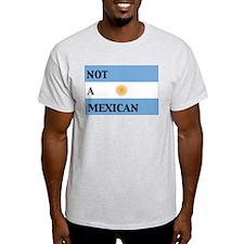 argentina flag Ash Grey T-Shirt