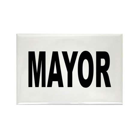 Mayor Rectangle Magnet