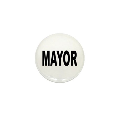 Mayor Mini Button