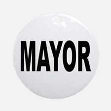 Mayor Ornament (Round)