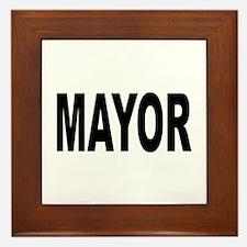 Mayor Framed Tile