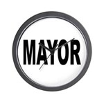 Mayor Wall Clock