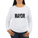 Mayor (Front) Women's Long Sleeve T-Shirt