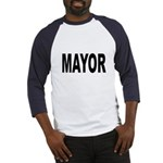Mayor (Front) Baseball Jersey