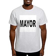 Mayor Ash Grey T-Shirt